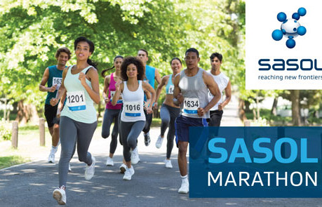 Road users urged to note Sasol Marathon runners on Saturday