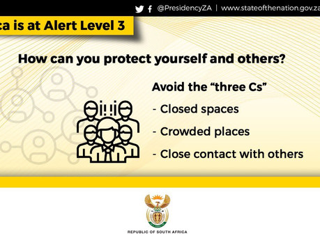 President Cyril Rramaphosa pushes South Africa back to Lockdown Level 03