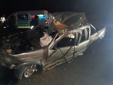 Man killed and another critical after vehicle rollover on the R57