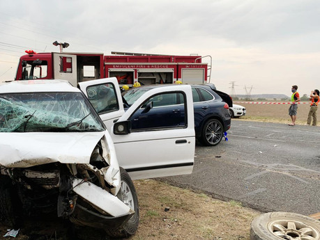 Adult and child killed in head-on collision in Vanderbijlpark