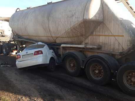 Various accidents in the Vaal Triangle this past weekend