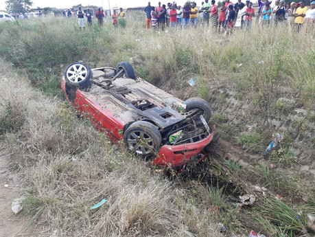 Three moderate to serious injuries after separate accidents in Meyerton, Bophelong