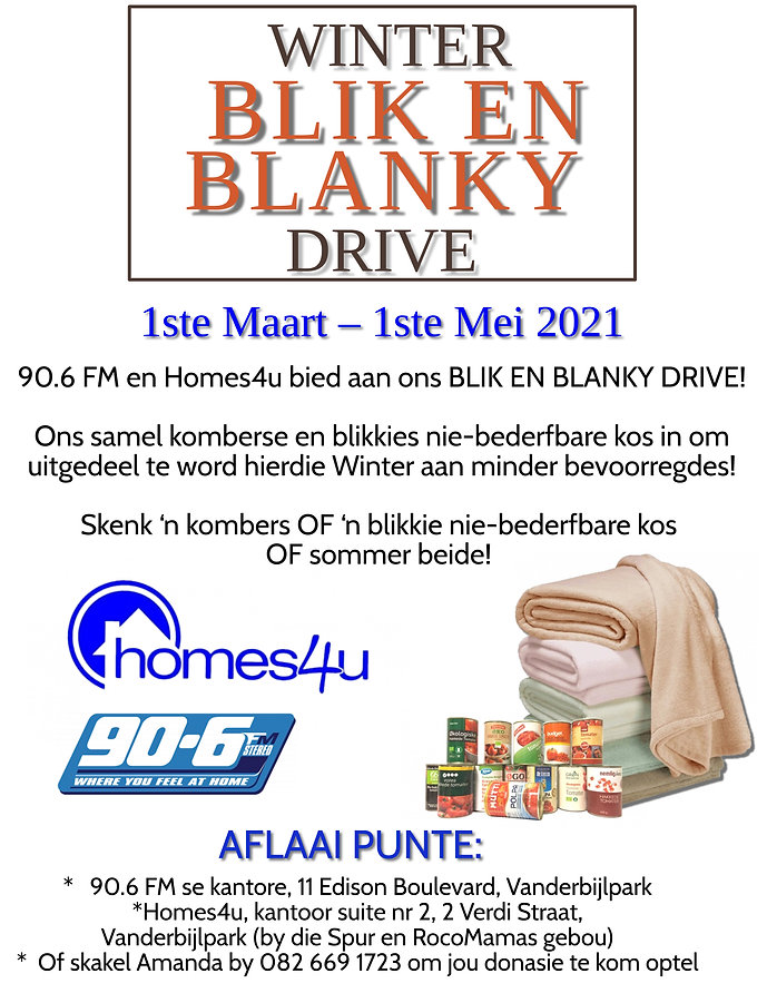 Copy of Copy of Winter Blanket Drive Fly