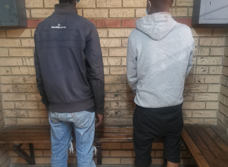 Two arrested after various business robberies in the Free State