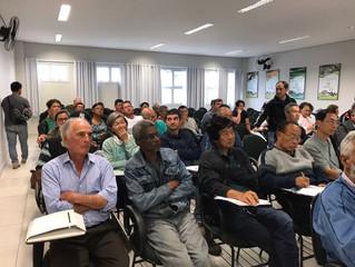 Sindicato Rural de Mogi das Cruzes recebe Especialista em Agricultura Orgânica