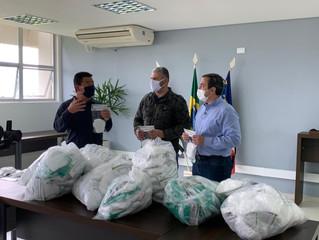 Sindicato Rural de Mogi das Cruzes doa 3 mil mascaras