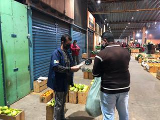 Prefeitura de Mogi das Cruzes distribui mascaras doadas pelo Sindicato Rural de Mogi das Cruzes