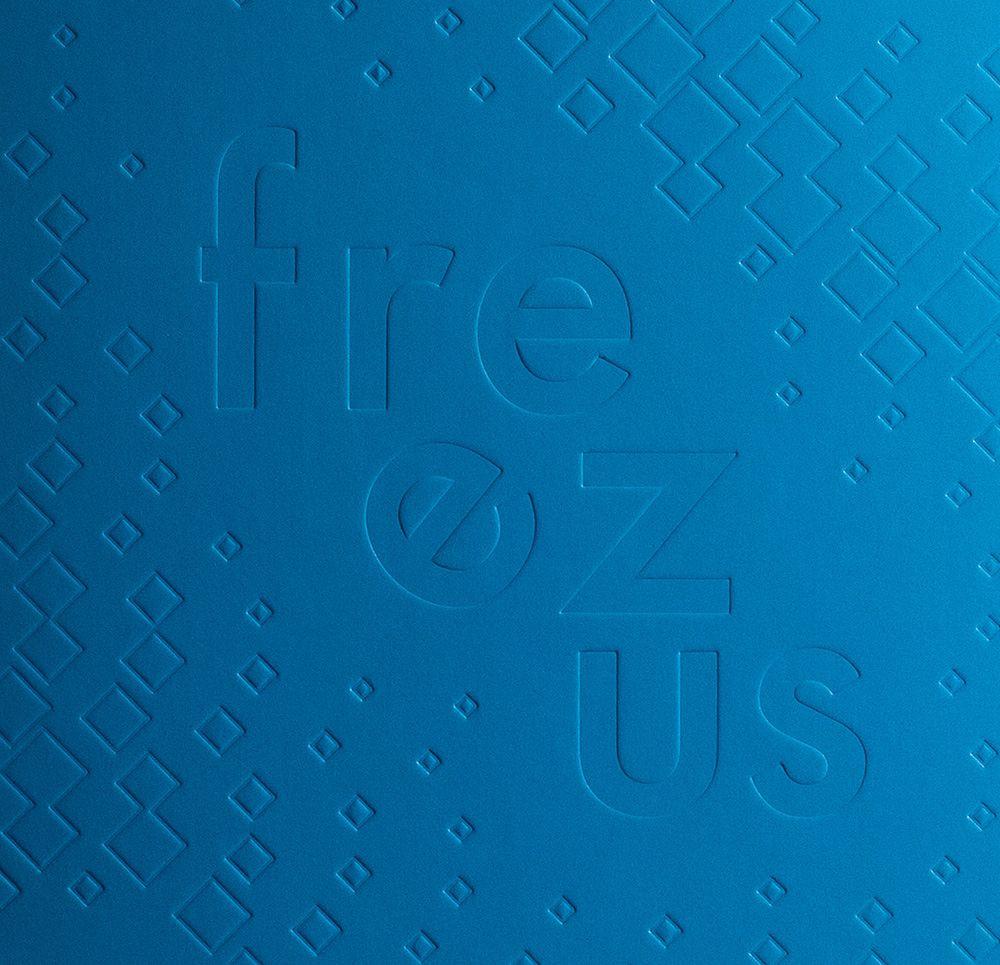 Freezus - Deboss detail