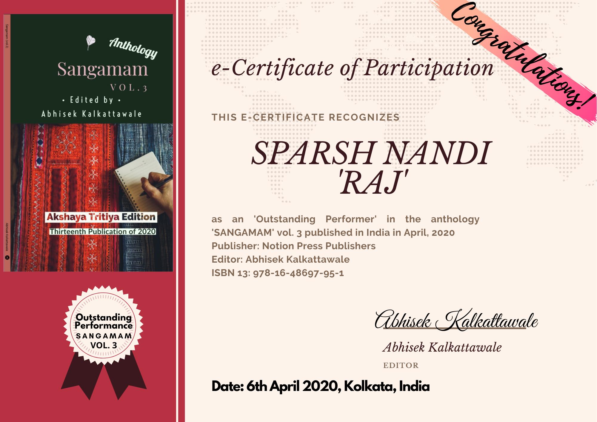 Sparsh Nandi