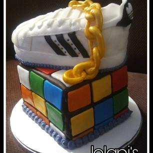 80's Throwback Cake