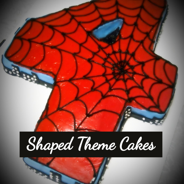 Shaped Theme Cake