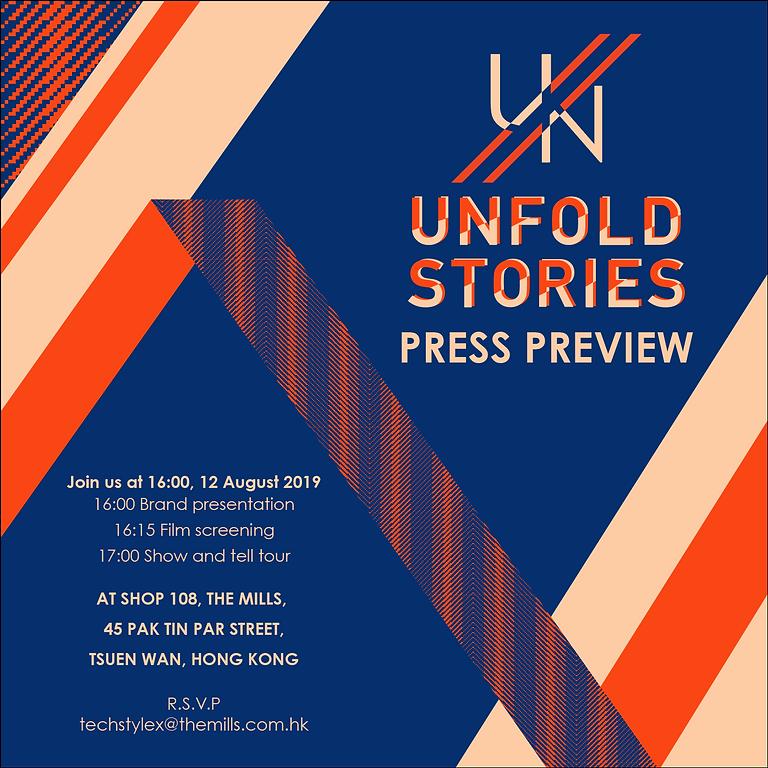 UN/FOLD STORIES PRESS REVIEW