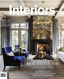 Interiors Texas cover