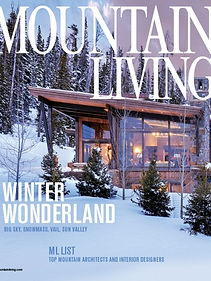 Mountain Living 2019 cover