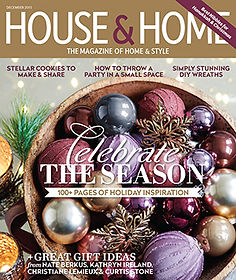 House & Home Celebrate the Season cover