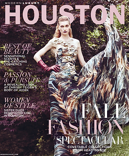 Houston Magazine cover