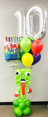AirCraft Balloon Designs Custom Birthday