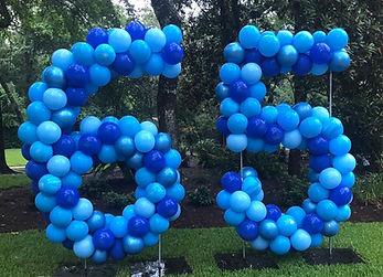 AirCraft Balloon Designs Yard Number Bal
