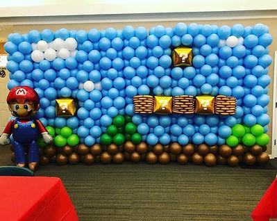 AirCraft Balloon Designs Super Mario Bal