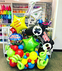 AirCraft Balloon Designs Floor Display B