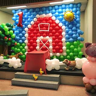 AirCraft Balloon Designs Barn Wall