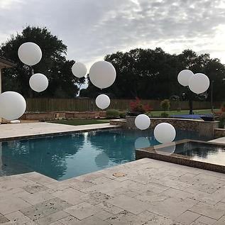 AirCraft Balloon Designs Jumbo pool Ball