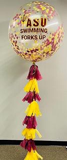 AirCraft Balloon Designs ASU Swimming Ju