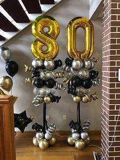 AirCraft Balloon Designs Birthday Party