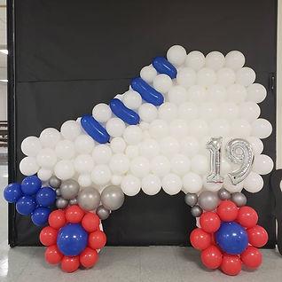 AirCraft Balloon Designs Rollerskate Bal