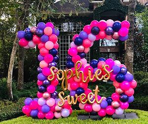 AirCraft Balloon Designs Sweet 16 Yard B