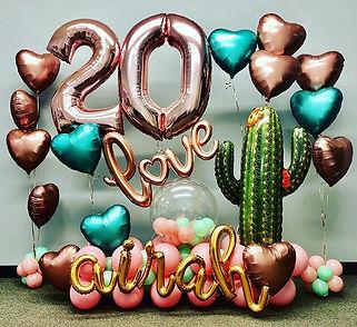 Happy 20th Birthday Airah! Early morning