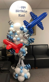 AirCraft Balloon Designs Completely Cust