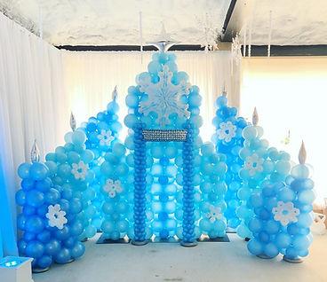 AirCraft Balloon Designs Ice Castle Ball