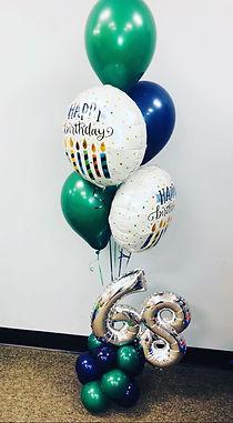 AirCraft Balloon Designs Birthday Bouque