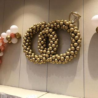 AirCraft Balloon Designs Wedding Rings B