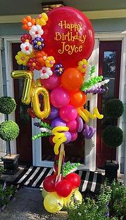 AirCraft Balloon Designs Floral Party Po