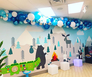 AirCraft Balloon Designs Dentist Office