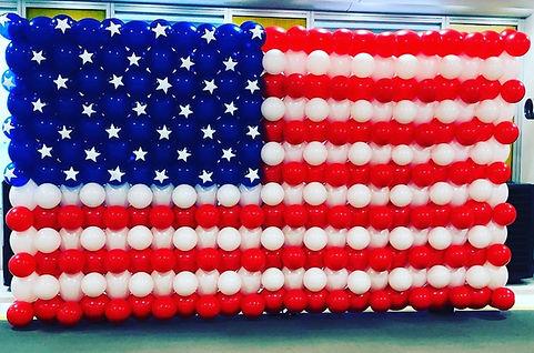 AirCraft Balloon Designs American Flag B