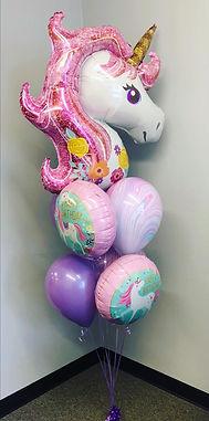 AirCraft Balloon Designs Unicorn Birthda