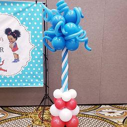 AirCraft Balloon Designs Dr. Seuss Party