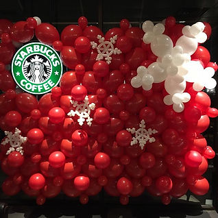 AirCraft Balloon Designs Custom Starbuck