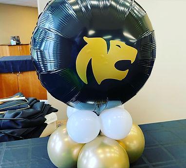 AirCraft Balloon Designs School logo bal