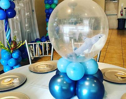 AirCraft Balloon Designs Shark Stuffed C