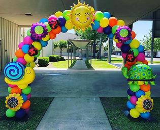 AirCraft Balloon Designs Colorful Summer