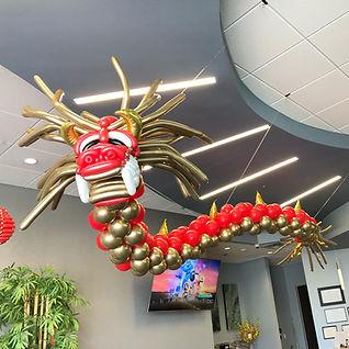 AirCraft Balloon Designs Ceiling Dragon