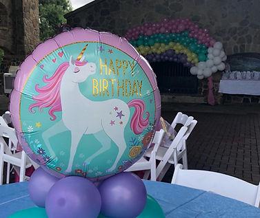 AirCraft Balloon Design Unicorn Balloon