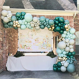AirCraft Balloon Designs Baby Shower Out