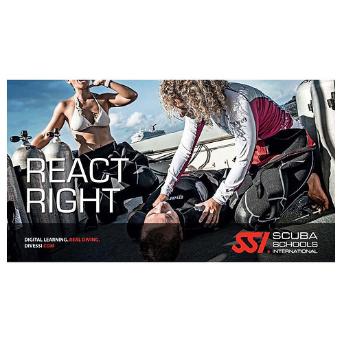 SSI React Right First Aid & CPR