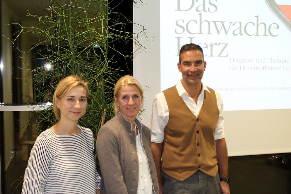 Daniela Breuninger, Kerrin Megele, Dr. Markus Knapp