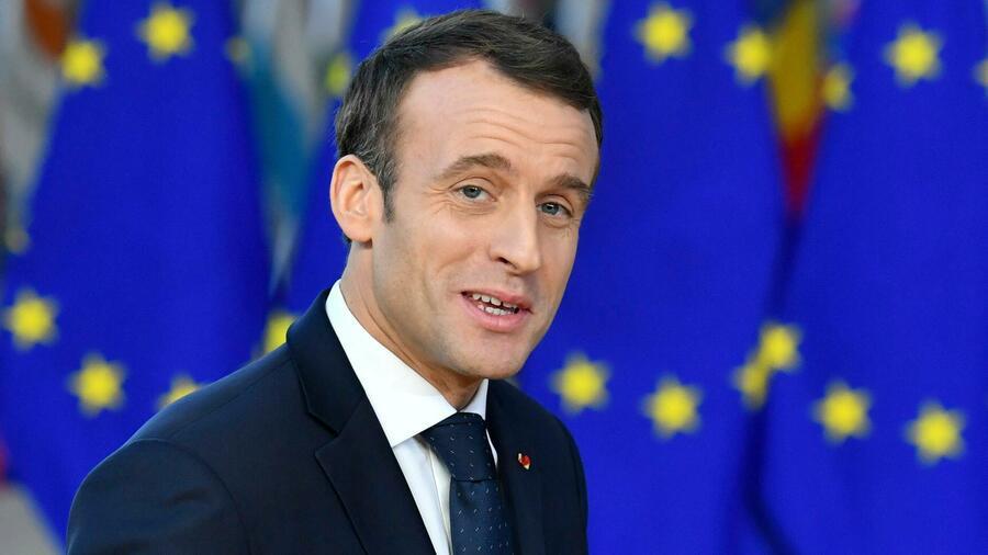 Emmanuel Macron, Foto dpa